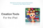 Creation Tools for the iPad